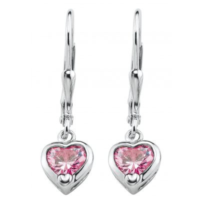 Prinzessin Lillifee 9081905 Childrens Earrings Heart 4020689081905