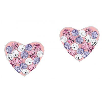 Prinzessin Lillifee 2013168 Heart Stud Earrings for Girls 4056867001984