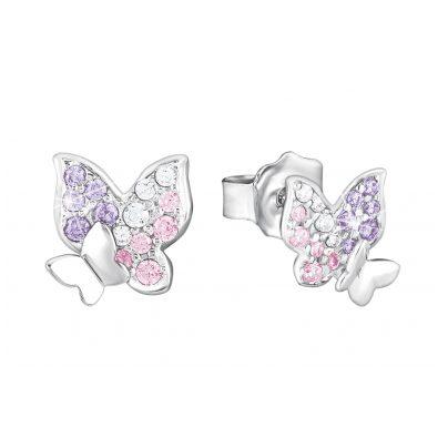 Prinzessin Lillifee 2021063 Girls' Earrings Butterfly 4056867010573