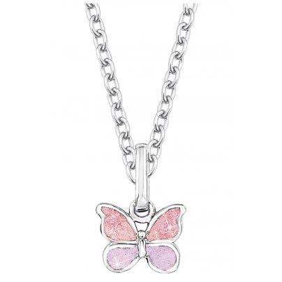 Prinzessin Lillifee 9065035 Halskette für Kinder Schmetterling 4020689065035