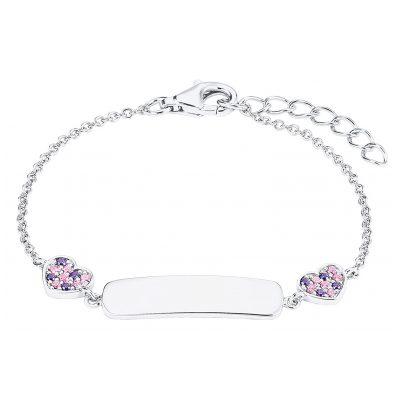 Prinzessin Lillifee 2027208 Silber-Armband für Kinder 4056867019828