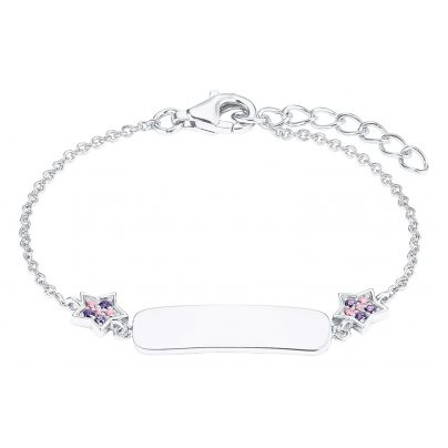 Prinzessin Lillifee 2027217 Silber Kinder-Armband Stern 4056867019835