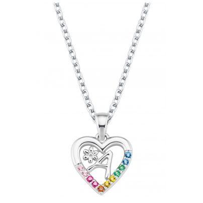 Prinzessin Lillifee 2027876 Silber Kinder-Halskette Herz A 4056867022064