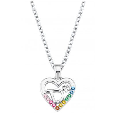 Prinzessin Lillifee 2027879 Silber Mädchen-Halskette Herz D 4056867022095