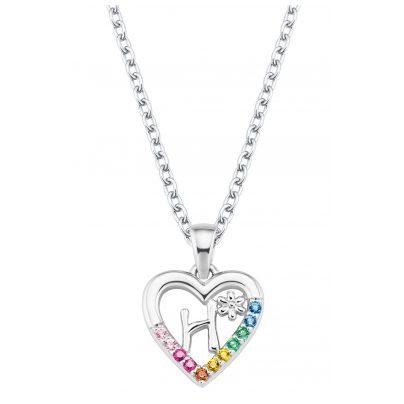 Prinzessin Lillifee 2027882 Silber Kinder-Halskette Herz H 4056867022125