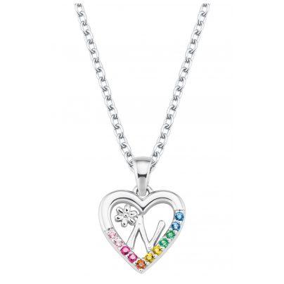 Prinzessin Lillifee 2027887 Silber Mädchen-Halskette Herz N 4056867022170