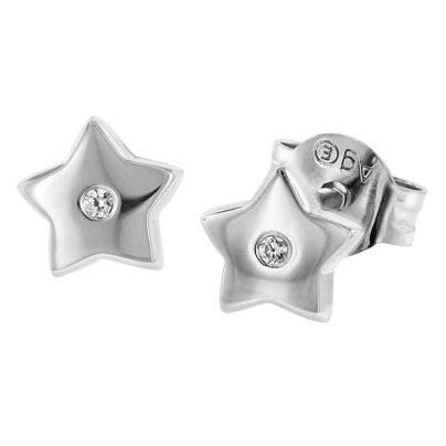 Herzengel HEE-STAR-ZI-ST Silber Kinderohrstecker Stern 4260562169607