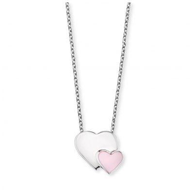 Herzengel HEN-13-HEARTS Mädchen-Halskette Herzen 4260562167399