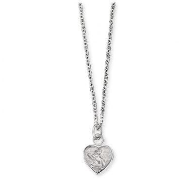 Herzengel HEN-ANGELI-HEART Kinder-Halskette Silber Schutzengel 4260562161298