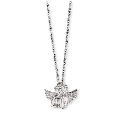 Herzengel HEN-ANGELO Silber-Halskette für Kinder Engel 4260562161328