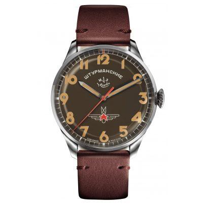 Sturmanskie 2416-3805145 Herrenuhr Gagarin Vintage Retro 4260157448919