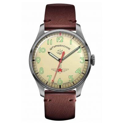 Sturmanskie 2609-3747128 Men's Watch Gagarin Vintage Retro Titanium 4260157449152