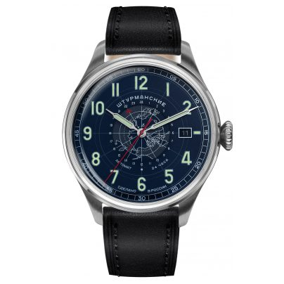 Sturmanskie 2432-6821352 Men's Wristwatch Heritage Arctic Automatic 24h Blue 4260157449381
