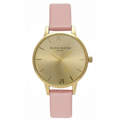 Olivia Burton OB15MD52 Midi Dial Dusty Pink & Gold Ladies Watch 5060403433152