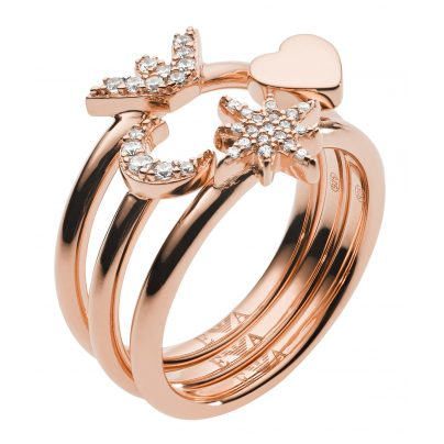 Emporio Armani EG3392221 Damen-Ring 4013496527537