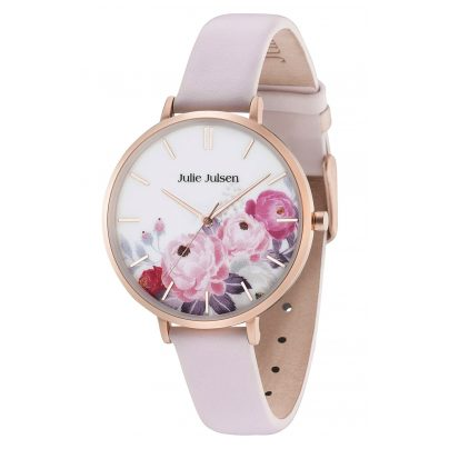 Julie Julsen JJW11RGL-2 Damenarmbanduhr Flower Rosé Light Pink 9120073586728