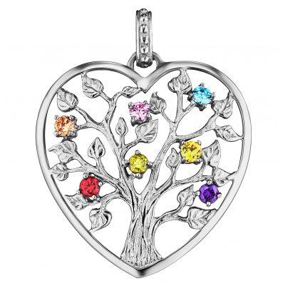 Julie Julsen JJPE0226.1 Ketten-Anhänger Lebensbaum Herz Silber M 9120073585912