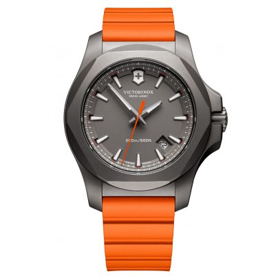 Victorinox 241758 I.N.O.X. Herrenuhr Titan Orange 7630000725226