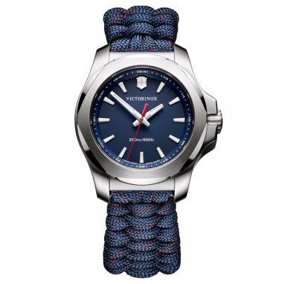 Victorinox 241770 I.N.O.X. V Damenuhr Blau mit Paracordband 7630000727657