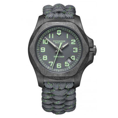 Victorinox 241861 Herrenuhr I.N.O.X. Carbon mit 2 Armbändern 7630000735522