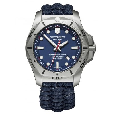 Victorinox 241843 Men's Watch I.N.O.X. Professional Diver with 2 Straps 7630000735553