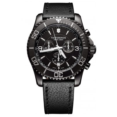 Victorinox 241786 Maverick Chronograph Black Edition Herrenuhr 7630000727824