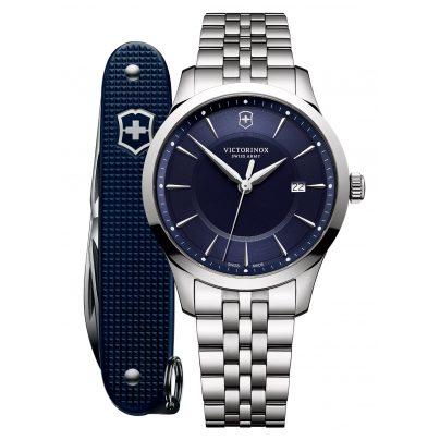 Victorinox 241802.1 Herren-Armbanduhr und Taschenmesser Alliance 7630000733115