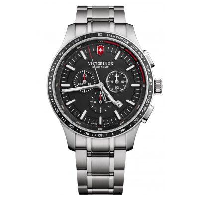 Victorinox 241816 Herrenuhr Alliance Sport Chronograph Schwarz 7630000733306