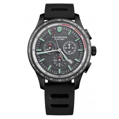 Victorinox 241818 Herrenarmbanduhr Alliance Sport Chronograph Grau 7630000733320