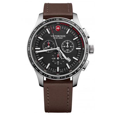 Victorinox 241826 Herrenuhr Alliance Sport Chronograph Schwarz 7630000733382