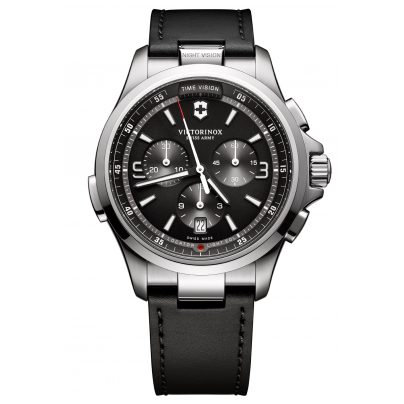 Victorinox 241785 Night Vision Chronograph Herrenuhr 7630000727046