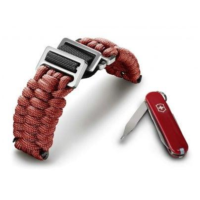 Victorinox 60024 I.N.O.X Paracord Armband Rot 7630000725462