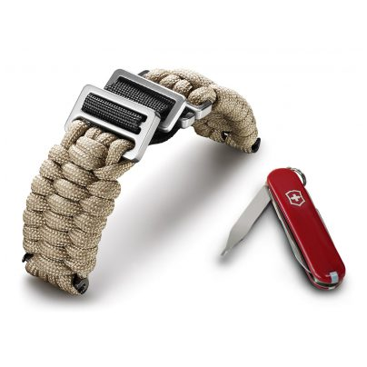 Victorinox 60025 I.N.O.X Paracord Armband Sandfarben 7630000725479