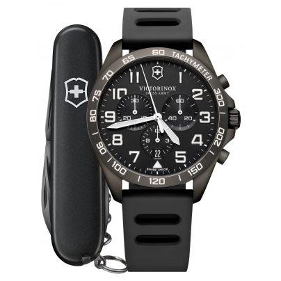 Victorinox 241926.1 Herrenuhr FieldForce Sport Chronograph Grau 7611160166500