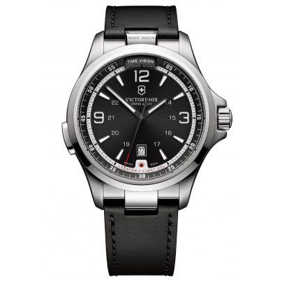 Victorinox 241664 Night Vision Herrenuhr mit Leuchtfunktionen 7630000717979
