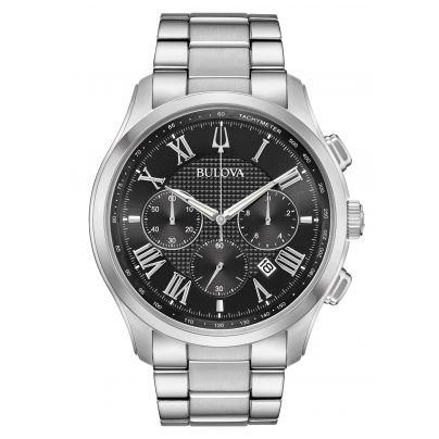 Bulova 96B288 Men's Watch Chronograph Wilton 7613077557419