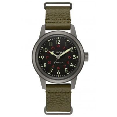 Bulova 98A255 Pilot's Watch Unisex Size Automatic Classic 7613077581308