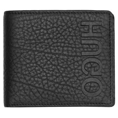 Hugo 50402991 Leder-Geldbörse Victorian Schwarz 4029049941729
