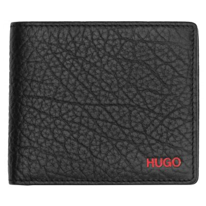 Hugo 50412691 Leather Wallet Victorian Black 4029052337168
