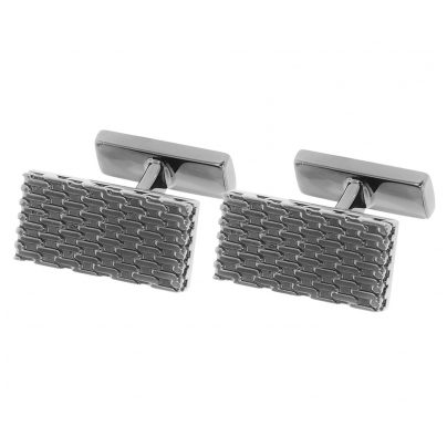 Hugo 50373636 E-Milanese Cufflinks Anthracite 4029044770645