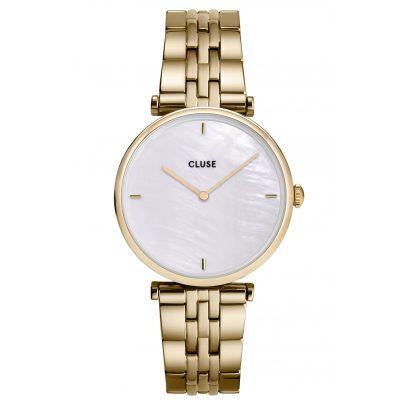 Cluse CW0101208014 Damenuhr Triomphe gold / perlmutt 8719743376090
