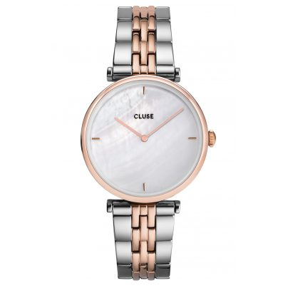 Cluse CW0101208015 Women's Watch Triomphe Two-Colour / Mother-of-Pearl 8719743376106