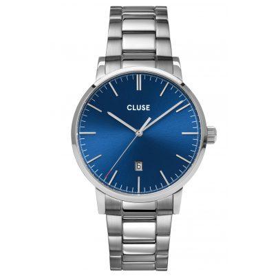 Cluse CW0101501011 Men's Watch Aravis Steel/Blue 8719743375994