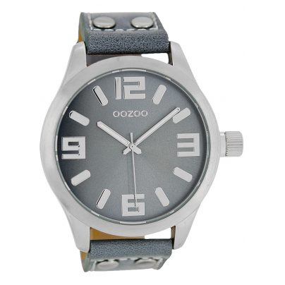 Oozoo C1060 Watch XL Aqua Grey 46 mm 9879012492063