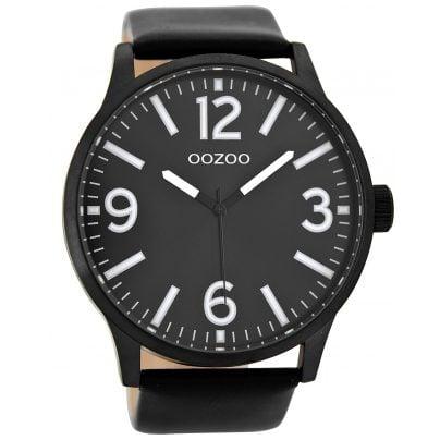 Oozoo C8574 Armbanduhr XL Schwarz 50 mm 9879012514093