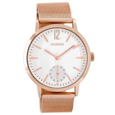 Oozoo C8613 Armbanduhr für Damen Rosé 40 mm 9879012514482