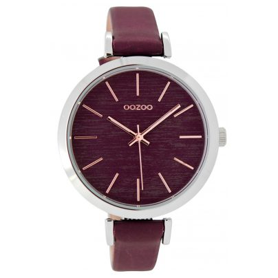 Oozoo C9137 Damenuhr Bordeaux/Rosé 40 mm 9879012518428