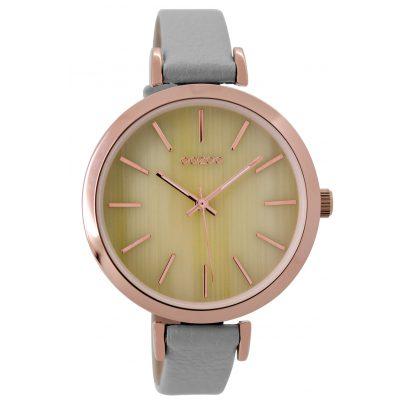 Oozoo C9235 Ladies Watch Stone Grey/Ivory 40 mm 9879012520667