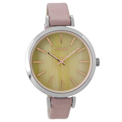 Oozoo C9236 Damen-Armbanduhr Altrosa/Elfenbein 40 mm 9879012520674