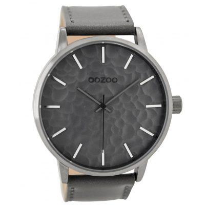 Oozoo C9440 Herrenuhr Grau 48 mm 8719929000351